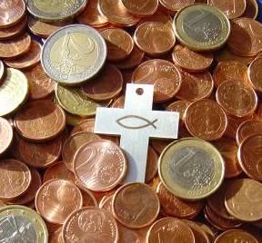 Kirche Geld
